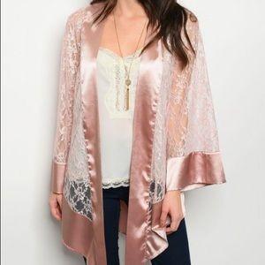 Blush Kimono